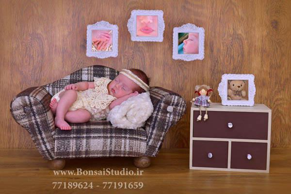 آتلیه کودک و عکاسی از جزییات نوزاد