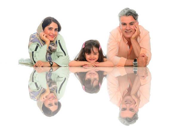 عکس خانوادگی در آتلیه