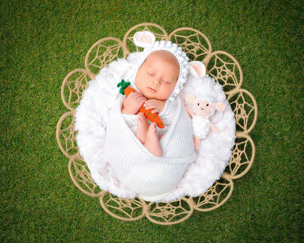 آموزش عکاسی نوزاد با تجهیزات ساده