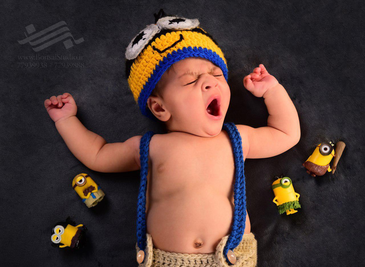 با عکس های نوزادی آتلیه بن سای آشنا شوید!