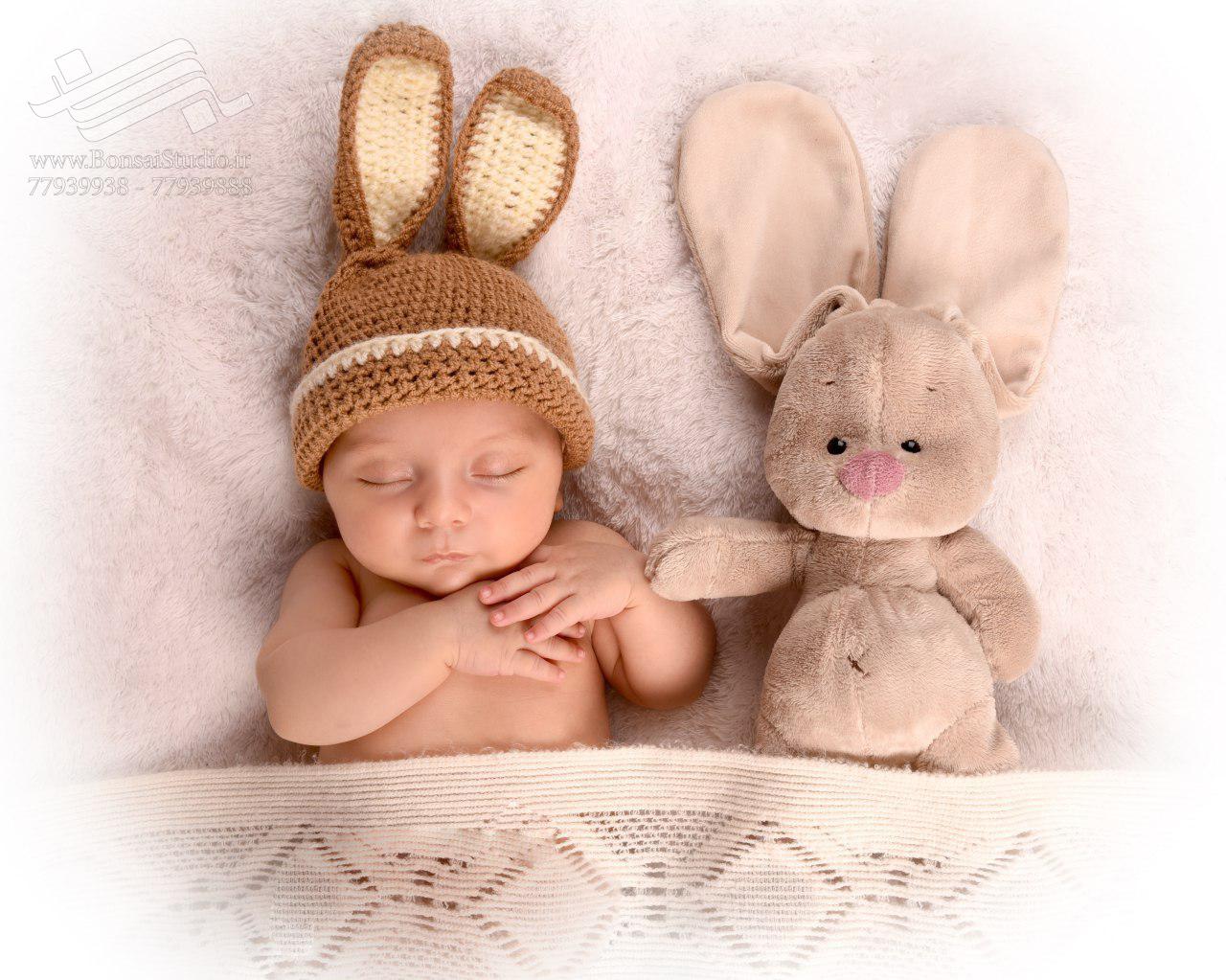 نکات عکاسی نوزاد با نور طبیعی