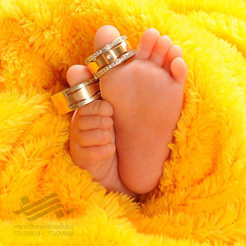 عکس کودک زیر ۳ ماه