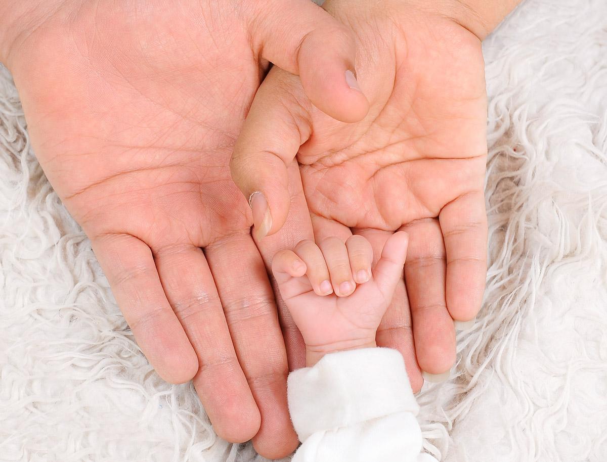عکس کودک زیر ۳ ماه ( آتلیه نوزاد)