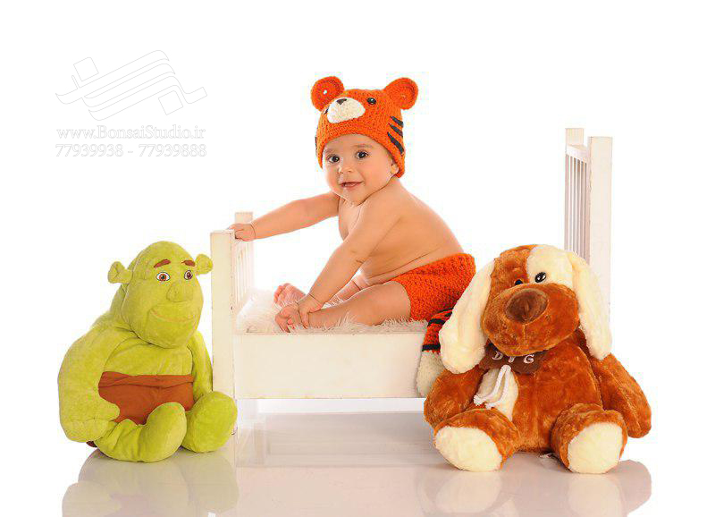 ایده  برای عکاسی کودک و نوزاد