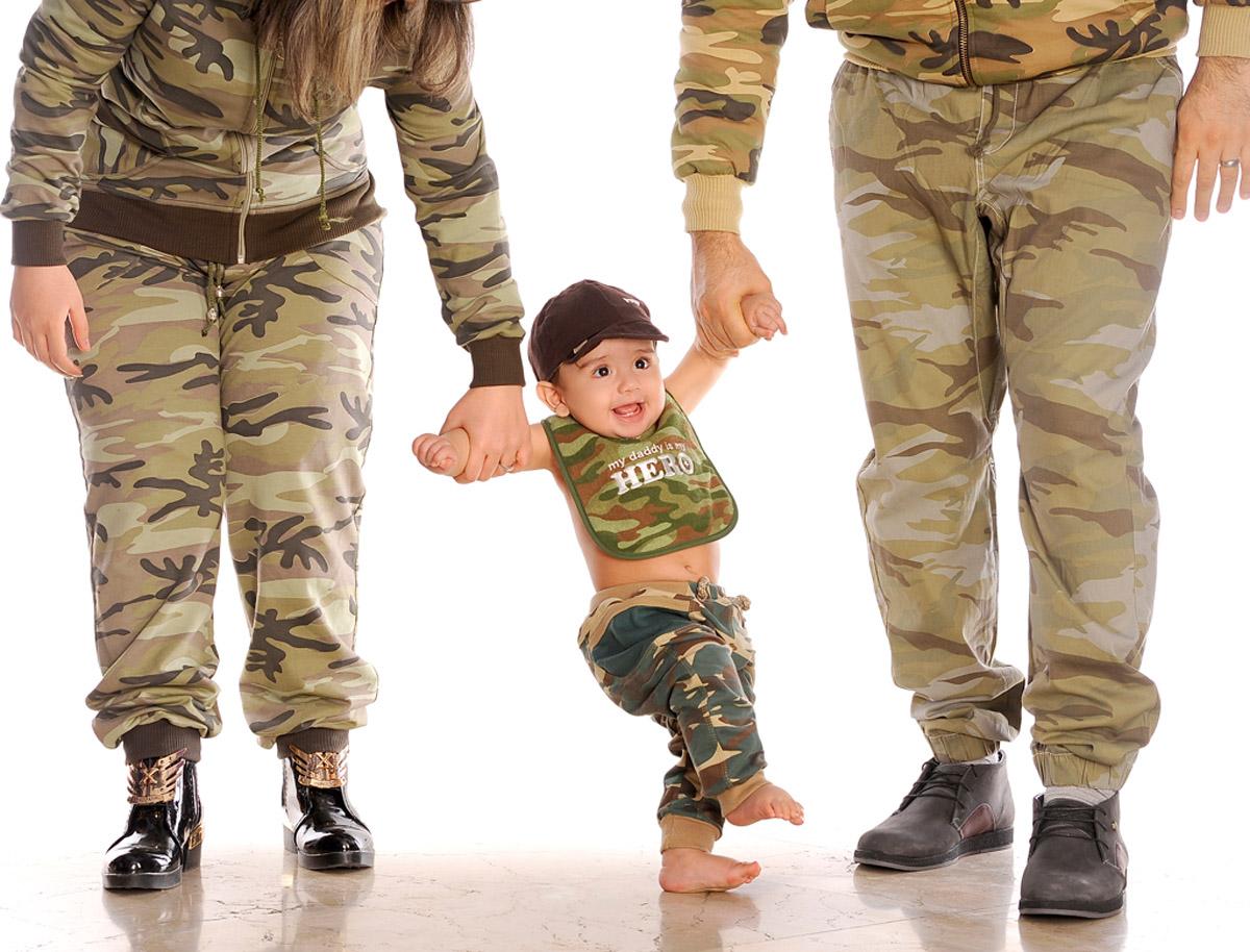 گرفتن عکس خانوادگی در آتلیه کودک