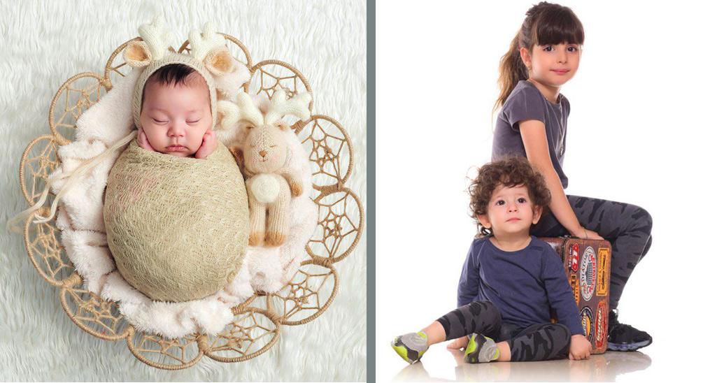 تفاوت عکاسی کودک و نوزاد  در آتلیه کودک