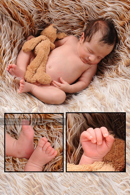 مدل عکس نوزاد در آتلیه کودک شرق نارمک