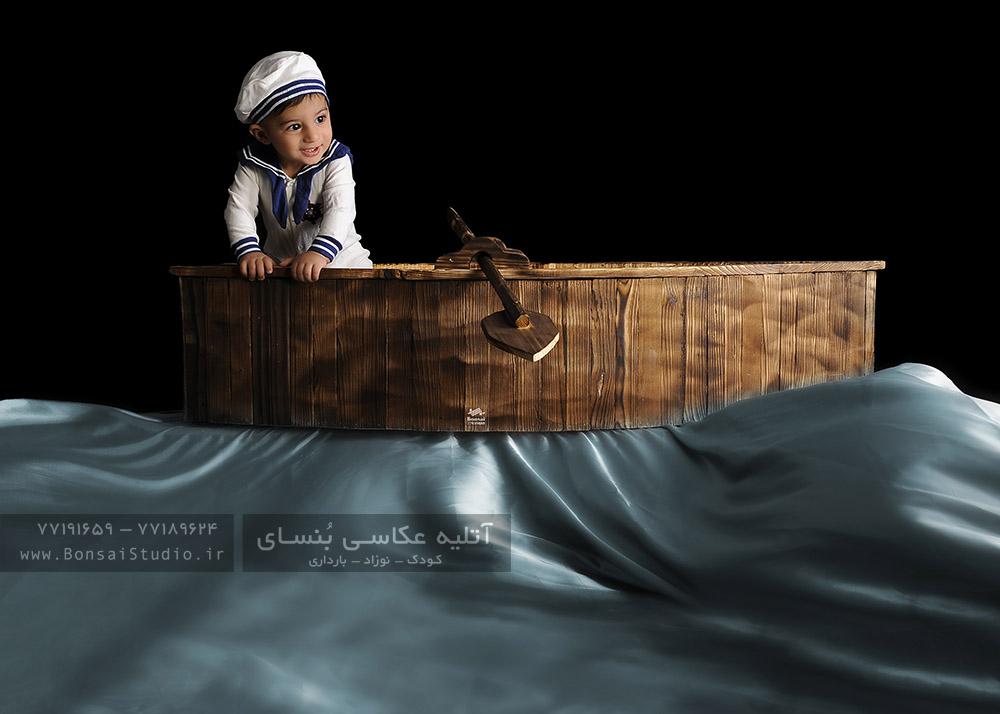 چیدمان دکور عکاسی از کودک و نوزاد در آتلیه کودک