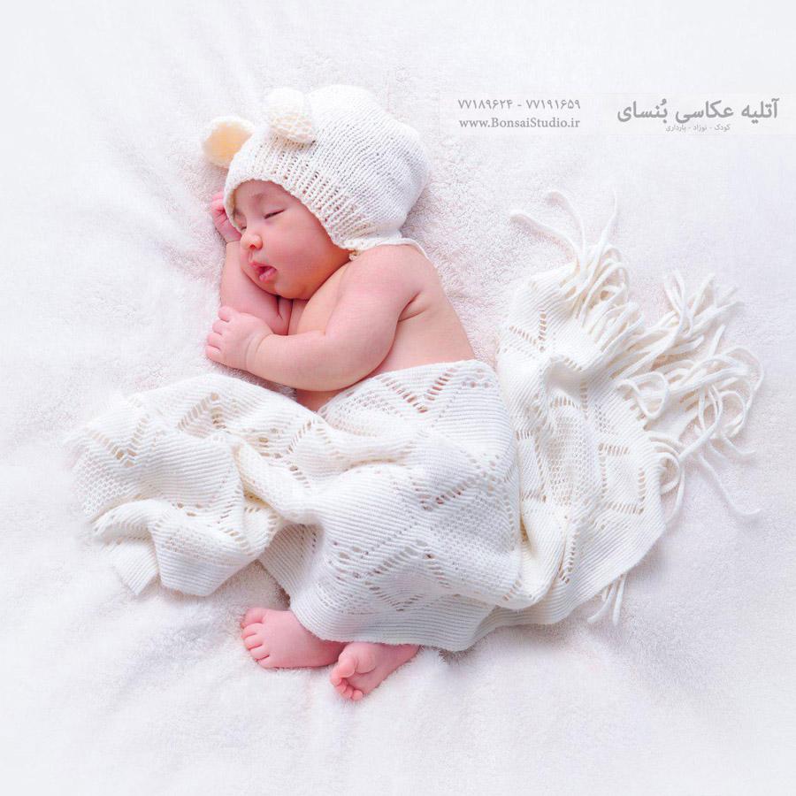 مدل عکس نوزادی