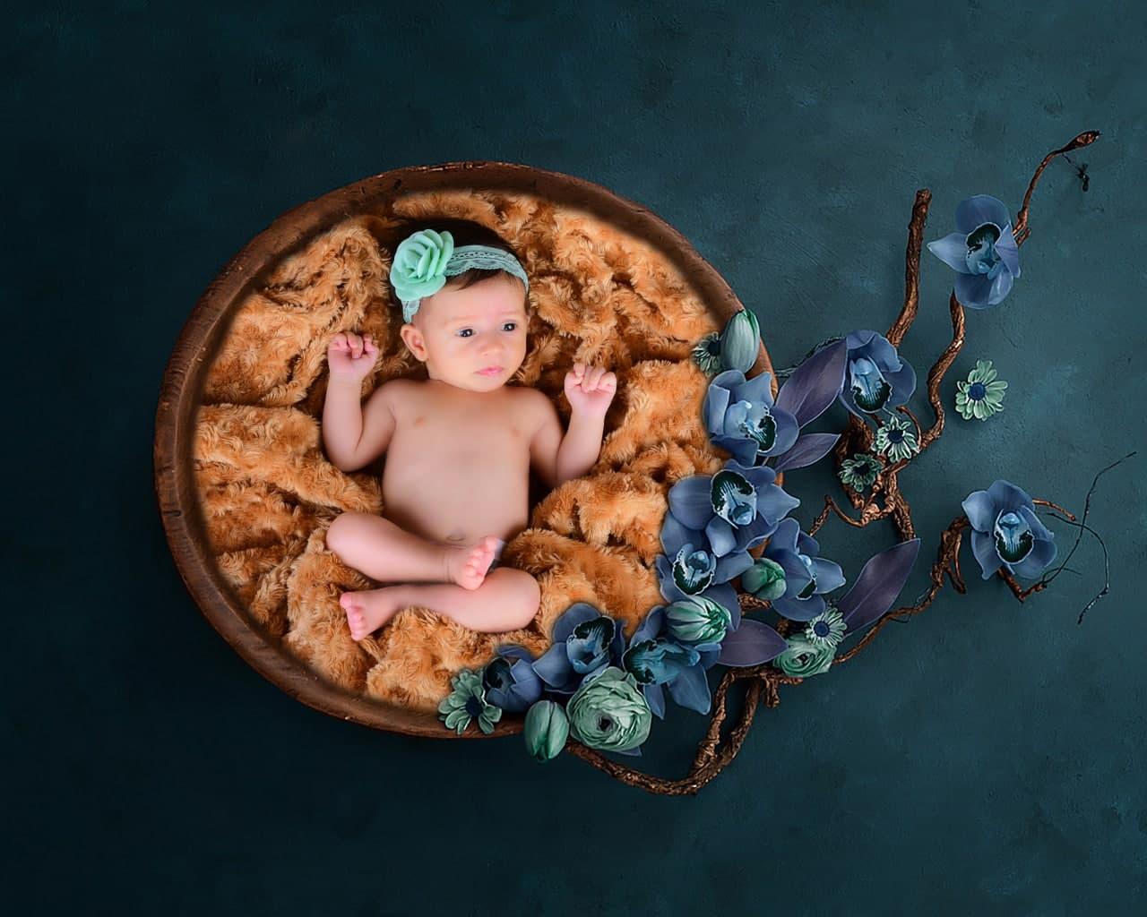 آتلیه عکاسی کودک و نکات مهم در عکاسی نوزاد