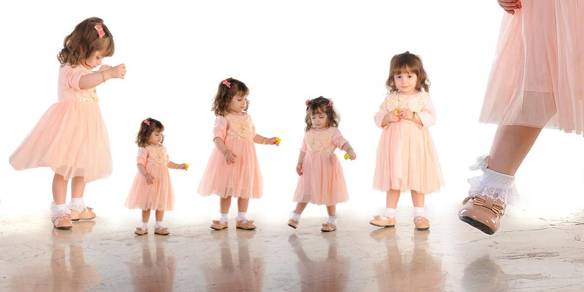 عکاسی ترکیبی در آتلیه کودک