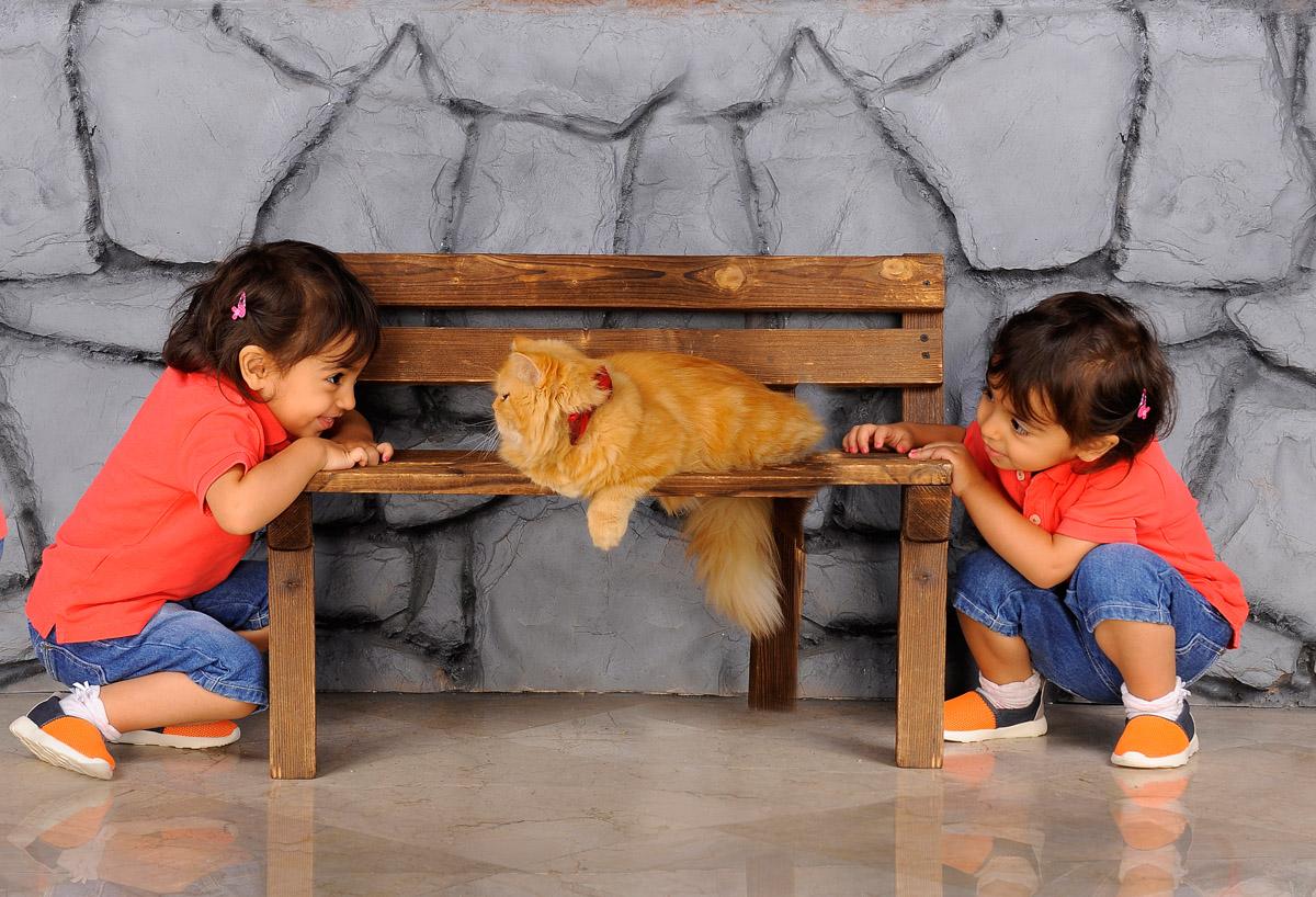 عکس کودک ترکیبی