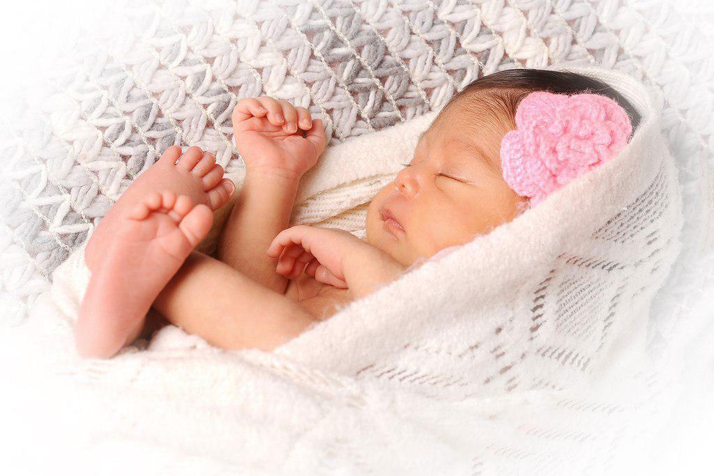 عکاسی نوزاد در بیمارستان