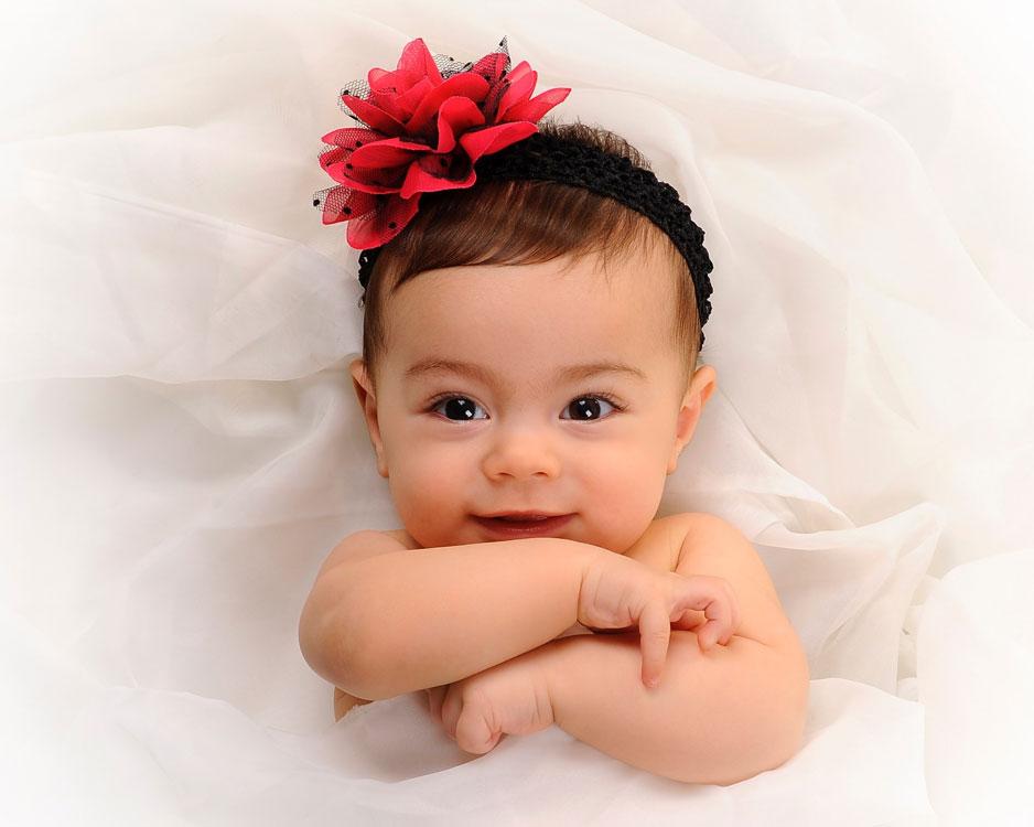 عکس تولد در آتلیه کودک