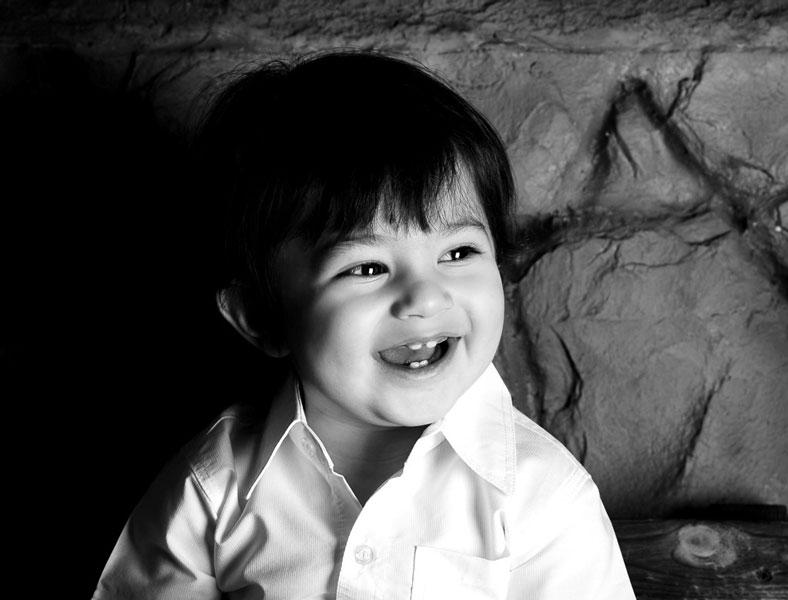 کنتراست در عکاسی کودک