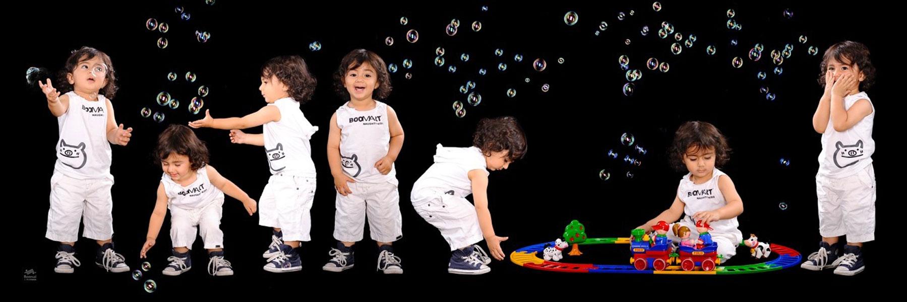 عکاسی پرتره کودک در آتلیه کودک