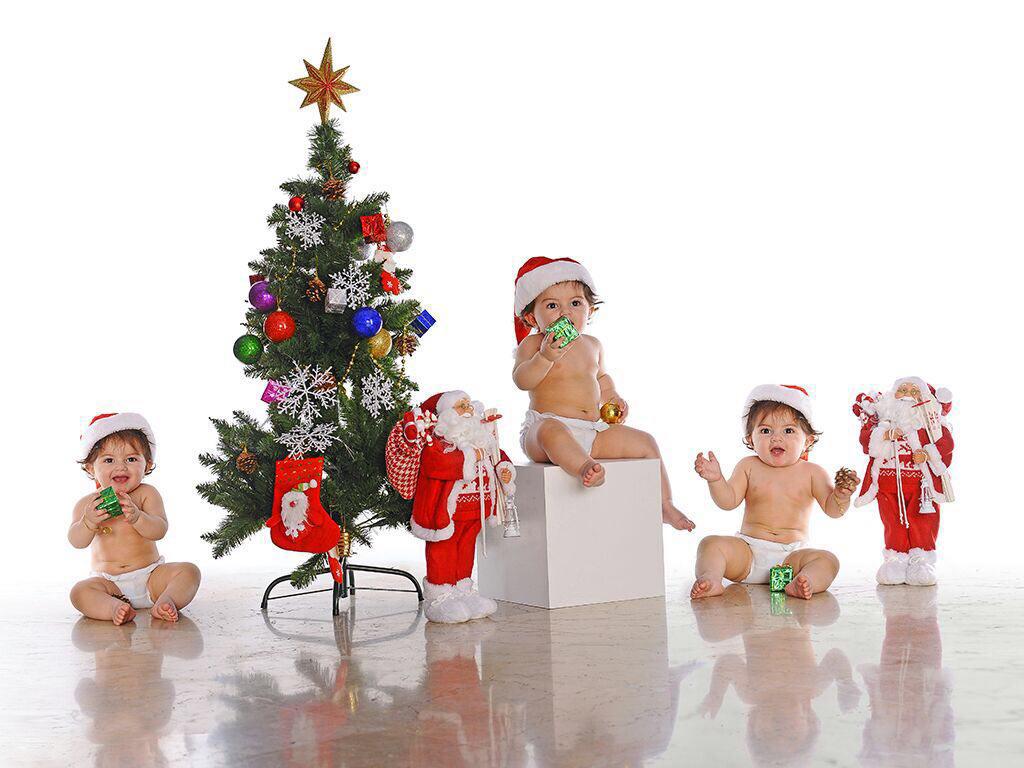 تم کریسمس در آتلیه کودک