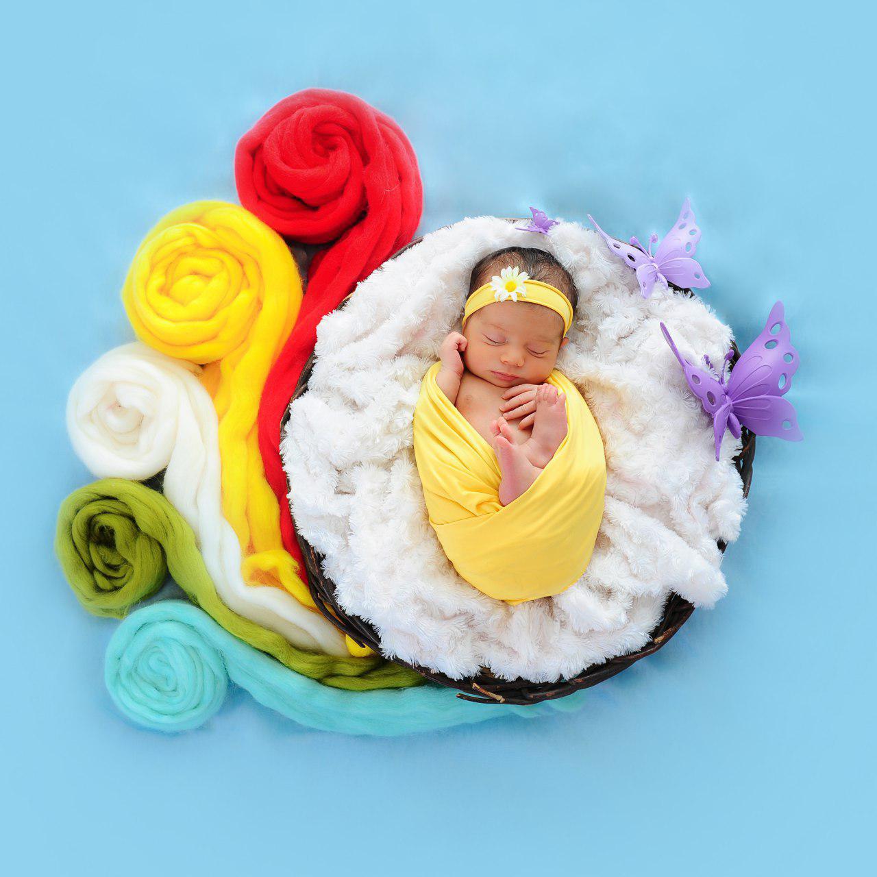عکاسی کودک در تولد