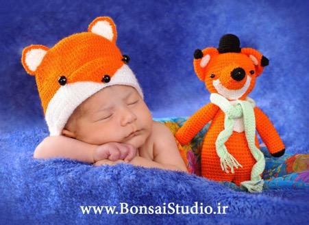 ایده های برای استفاده مناسب از رنگ در عکاسی نوزاد
