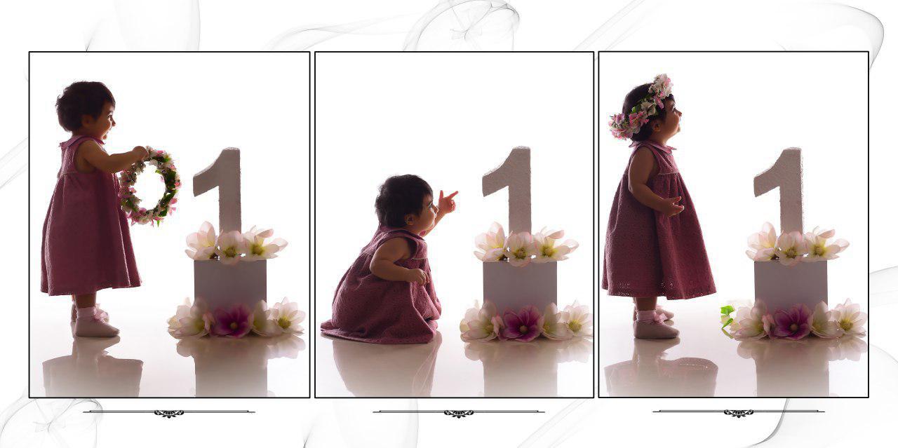 ایده برای عکاسی کودک در تولد یک سالگی