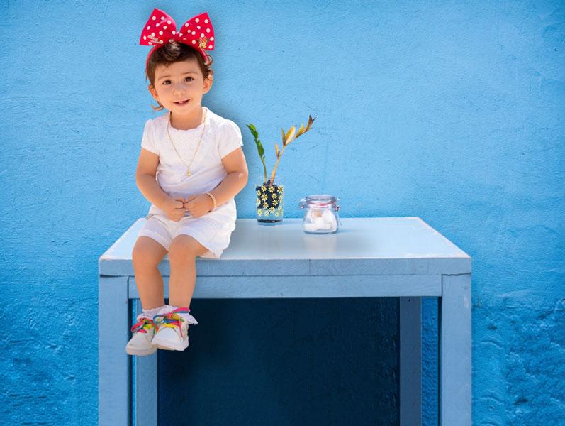 عکاسی کودک فضای باز