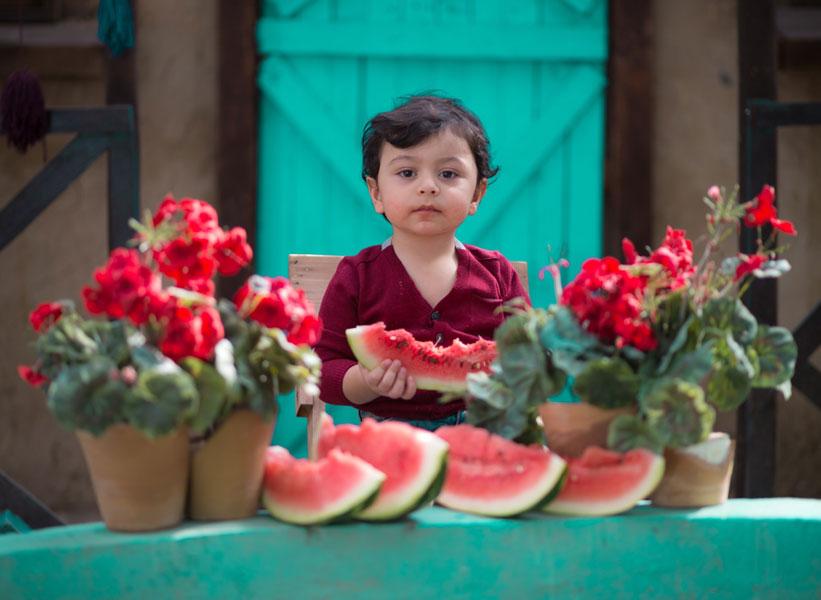 ۲ نکته برای عکاسی کودک در فضای باز
