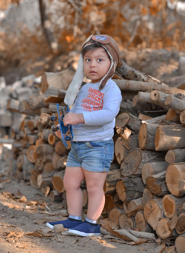 مزایای عکاسی کودک در فضای باز