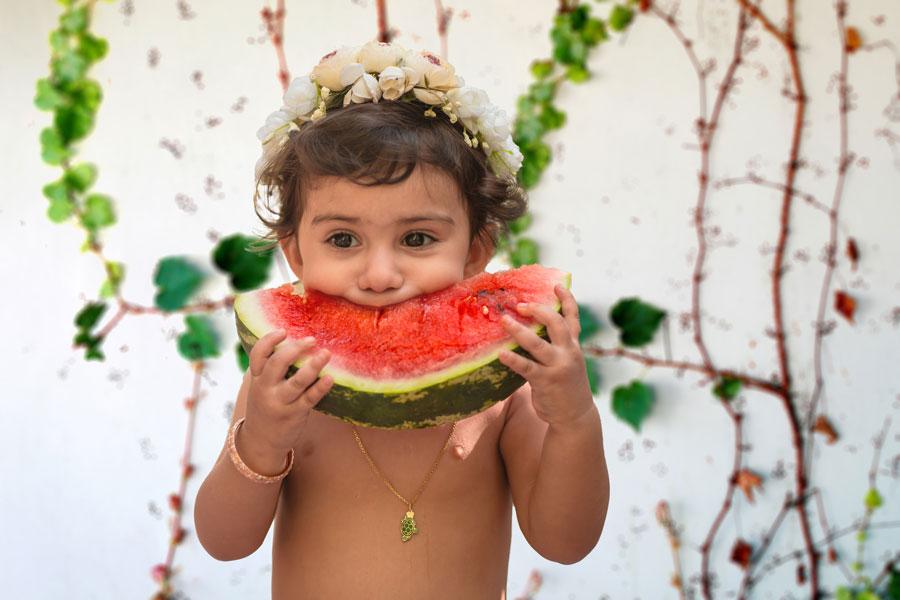 تراز سفیدی در عکاسی کودک