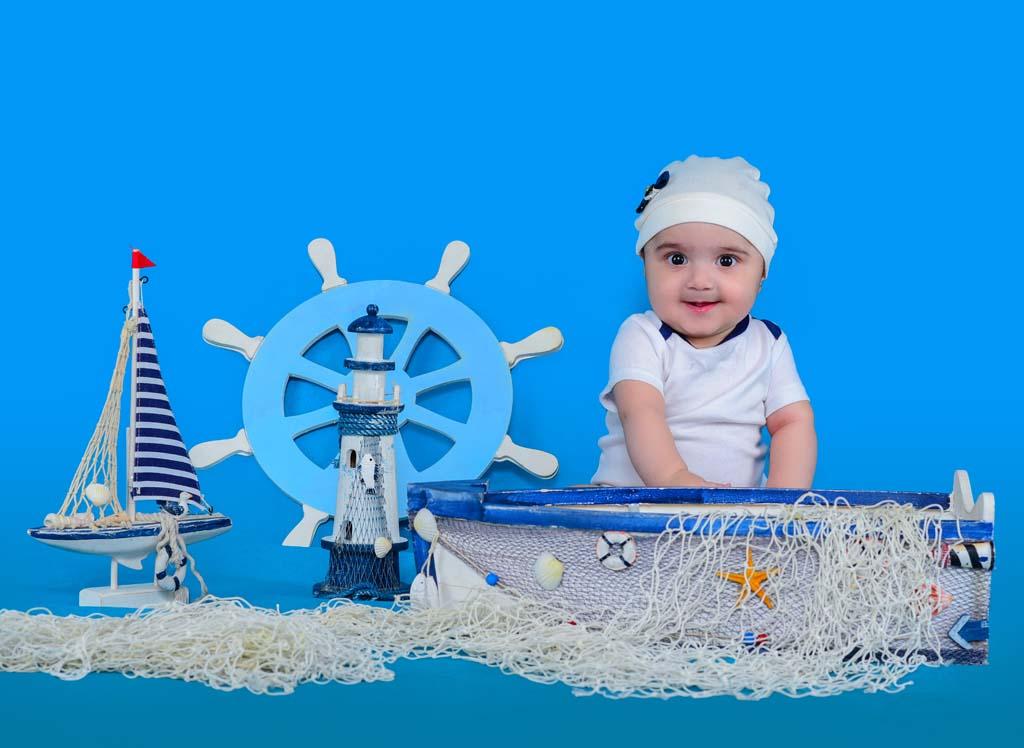 کنترل کودک در آتلیه عکس کودک